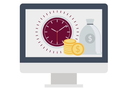 Savings with Timekeeping